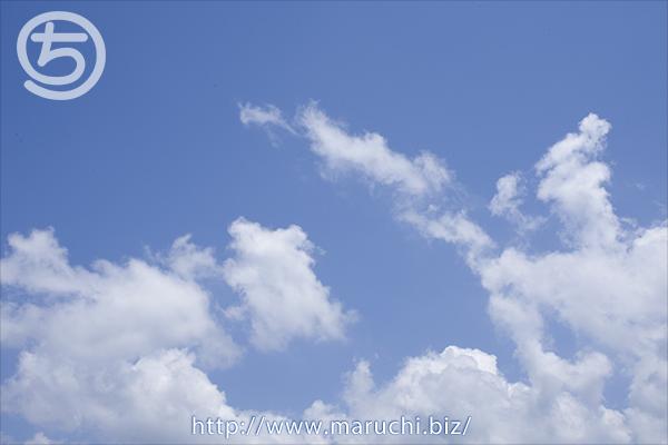 青空と雲 2015年六月