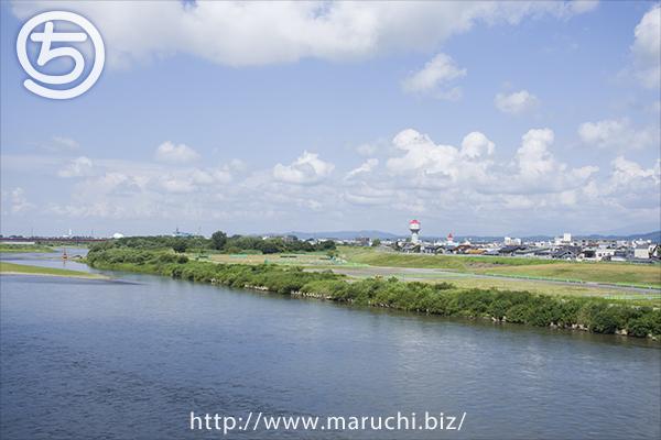 信濃川 2015年八月