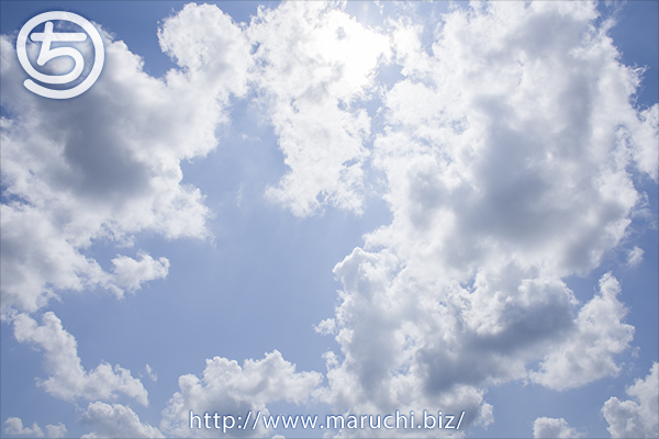 青空と雲 2015年八月