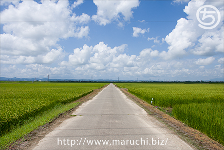 まるちimage写真素材田園風景