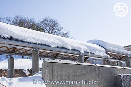 まるちimage写真素材 2018年二月、雪景色